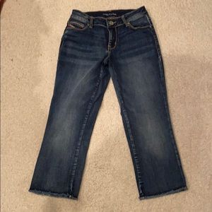 Maurices Cropped Jean Capris